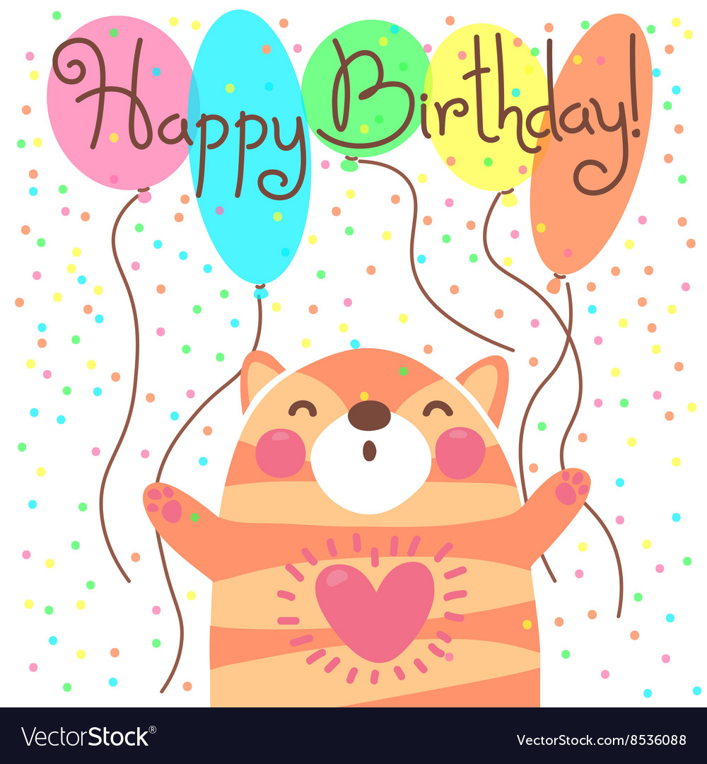cute happy birthday pictures ; cute-happy-birthday-card-with-funny-kitten-vector-8536088