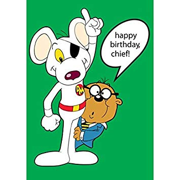 danger mouse birthday card ; 51IwIjlxBbL