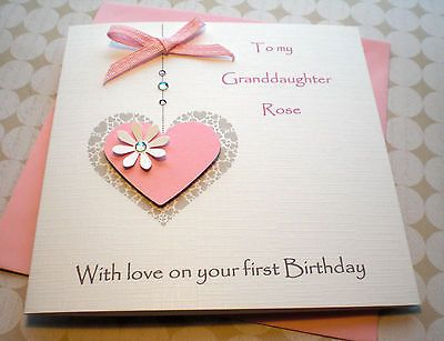 daughter 1st birthday card personalised ; 6182d5eca35cd9528f85c6d0f3c2a733