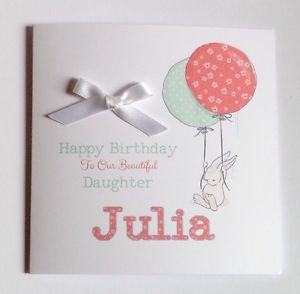 daughter 1st birthday card personalised ; s-l300