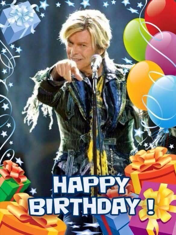 David Bowie Happy Birthday Best Happy Birthday Wishes
