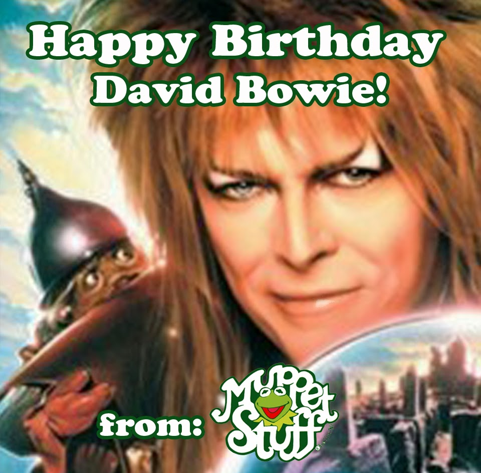 david bowie happy birthday ; MuppetStuff-HappyBirthday-DavidBowie-2014