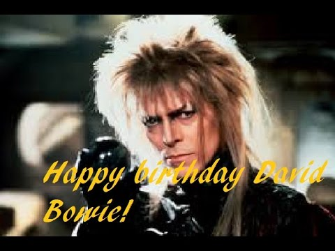 david bowie happy birthday ; hqdefault