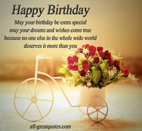 decent birthday wishes ; lovely-cycles-birthday-wishes-for-friends-great-quotes
