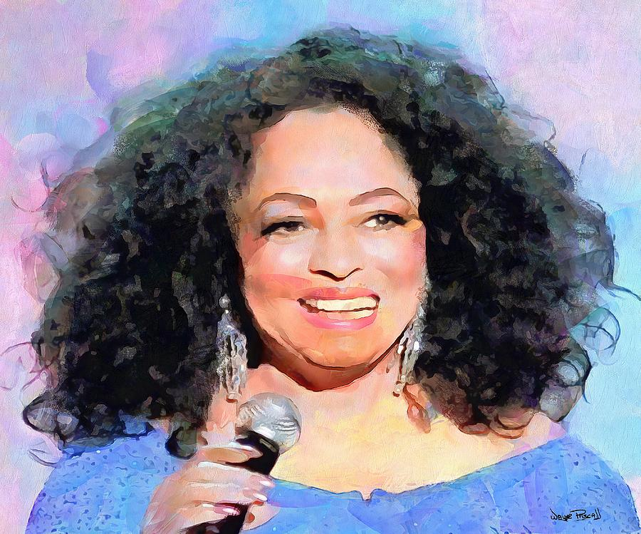 diana ross birthday card ; diana-ross-wayne-pascall