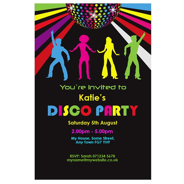 disco birthday invitation templates free ; disco-party-invitations-together-with-a-picturesque-view-of-your-Party-Invitation-Templates-using-stunning-invitations-3