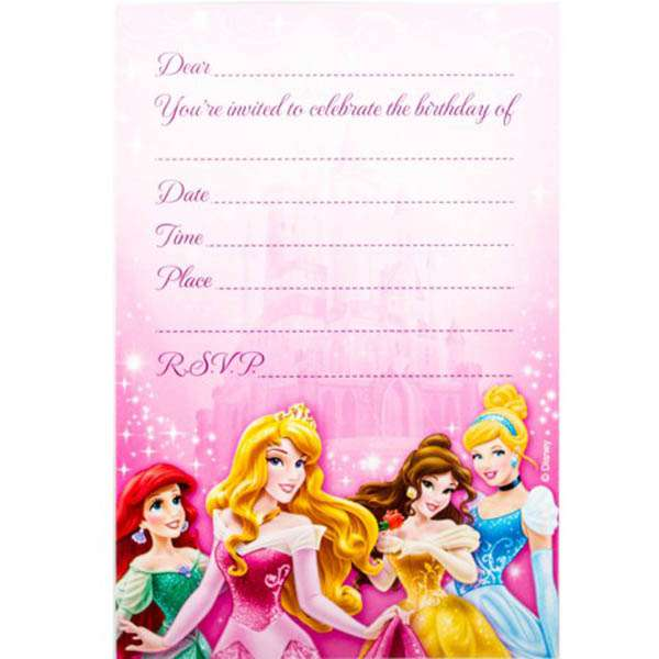 disney birthday invitation templates ; disney-princess-party-invitations-and-appealing-invitations-fitting-aimed-at-giving-pleasure-to-your-Party-Invitation-Templates-17