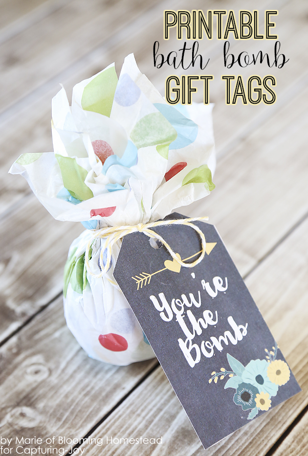 diy birthday gift tags ; DIY-Bath-Bomb-Gift-Idea