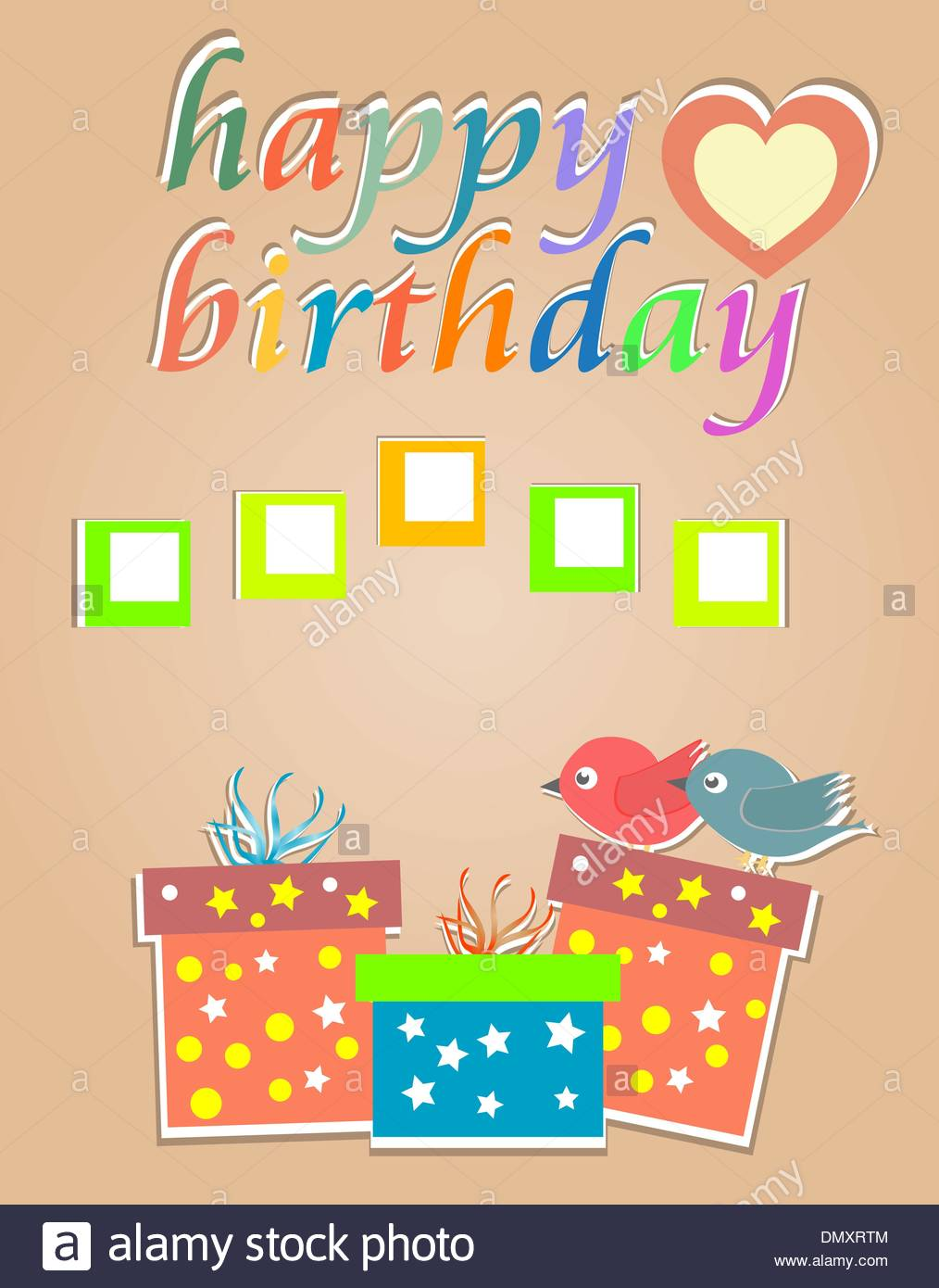 dmx birthday card ; vector-happy-birthday-cards-with-cute-birds-and-gift-box-DMXRTM