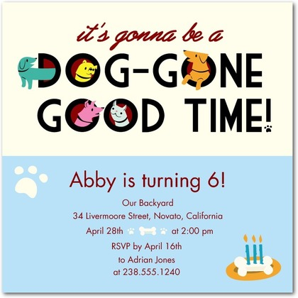 dog birthday invitation wording ; dog-party-invitations-including-captivating-Party-Invitation-Templates-with-full-of-pleasure-environment-9