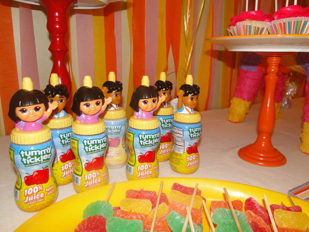 dora colors for birthday party ; dora-birthday-party-food-ideas1