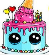 draw so cute birthday cake ; e5c9c20e92b8fc0999738ab68f558d69