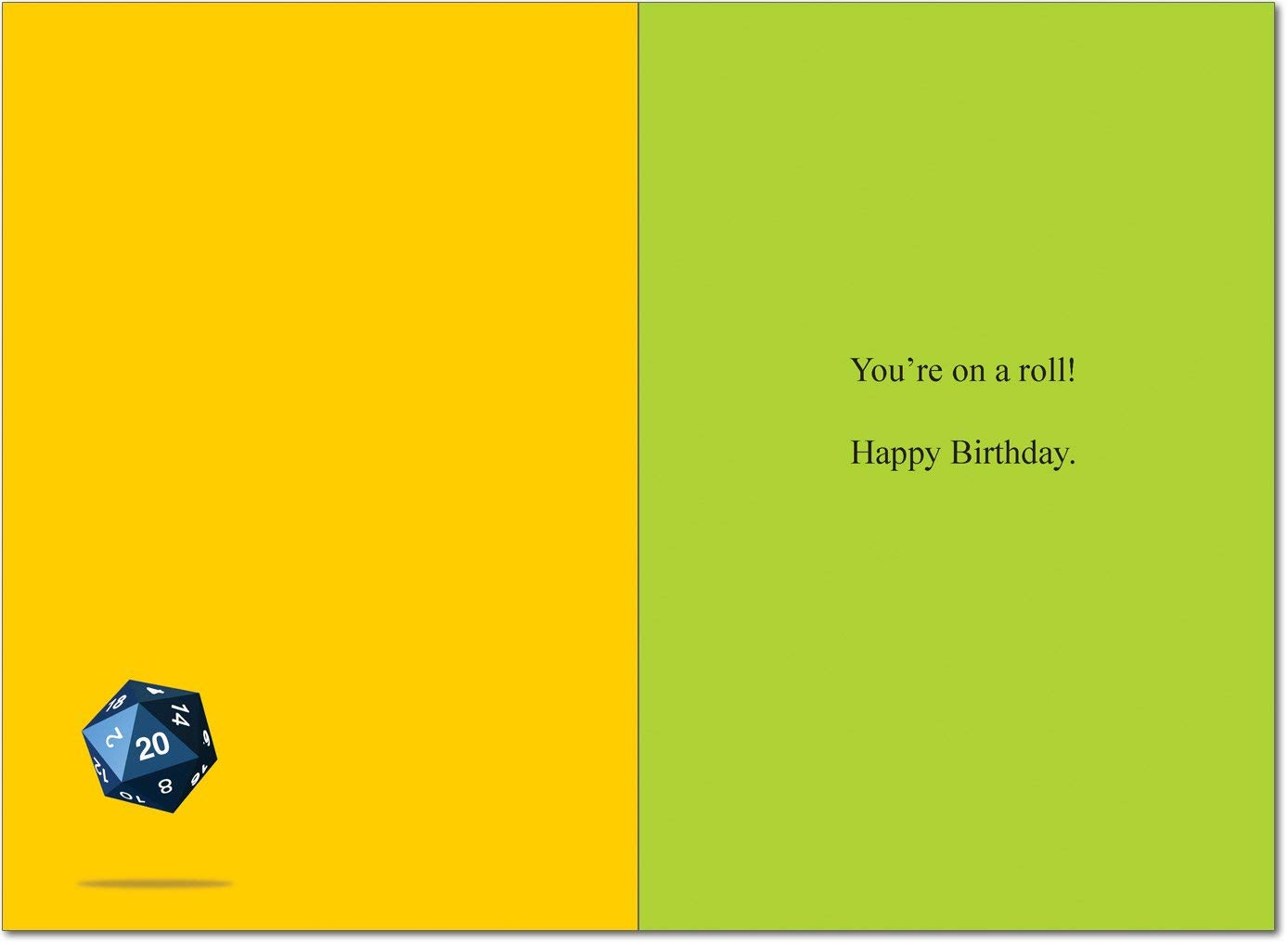 dungeons and dragons birthday card ; 512r6brVpwL