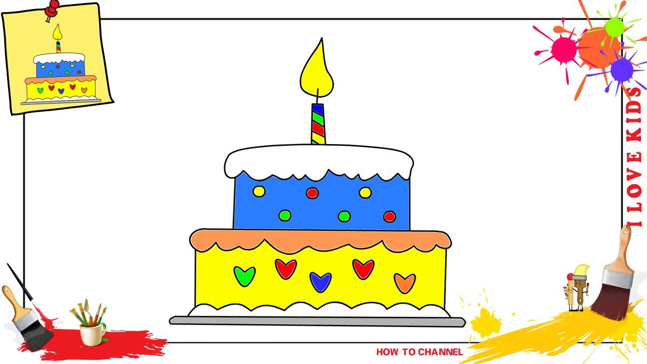 easy birthday pictures to draw ; birthday-cake-drawing-step-by-step-61