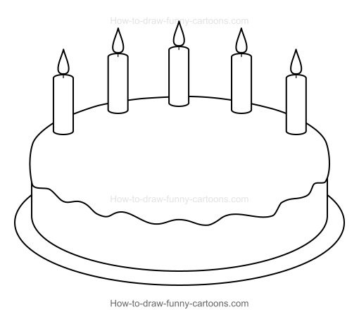 easy birthday pictures to draw ; xcartoon-birthday-cake-001