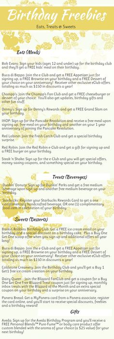 email sign up for free birthday stuff ; b6d73c281c76af83a933bf40e2d2f1d1--birthday-freebies-free-birthday