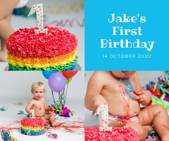 facebook birthday picture collage ; canva-cake-photo-collage-first-birthday-facebook-post-MACPvXDrQbM