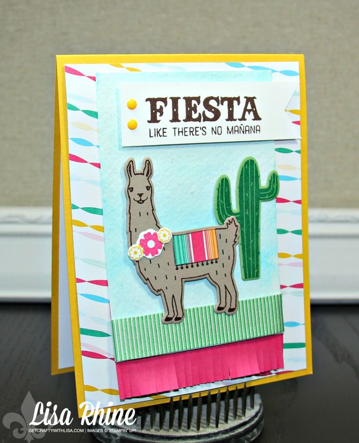 fiesta birthday card ; e14d151286aaccfb7bb3d307b9c20d63--animal-cards-stampinup