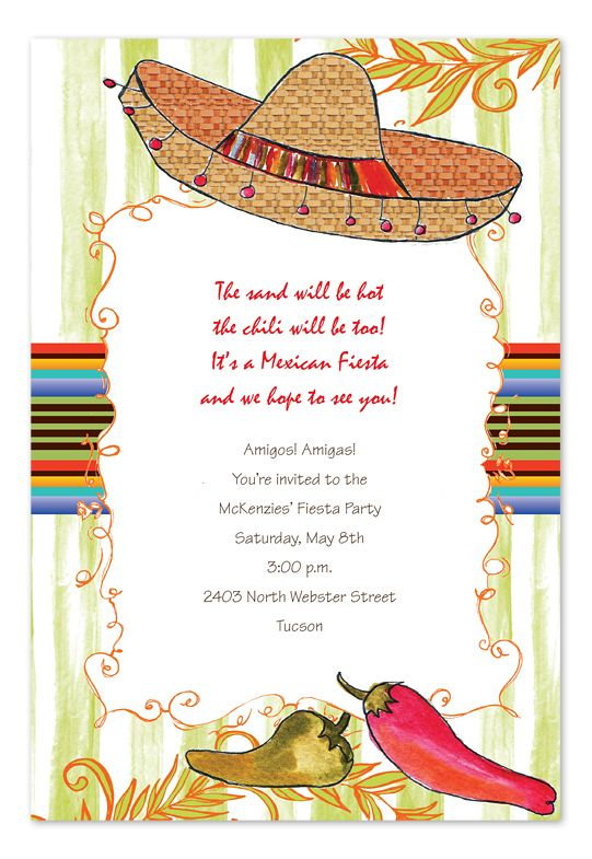 fiesta birthday party invitation wording ; 6a579566f3a6b155def9756a61ae9964--mexican-invitations-party-invitations