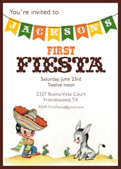 fiesta birthday party invitation wording ; 93f8be1ecd2e7383de1cbdd8c2647c81--first-birthday-parties-birthday-fun
