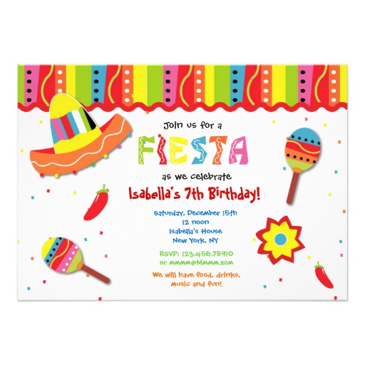 fiesta birthday party invitation wording ; Glamorous-Fiesta-Birthday-Invitations-To-Create-Your-Own-Birthday-Invitation-Wording