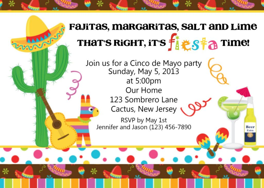 fiesta birthday party invitation wording ; d0d68138007794b639ca4f6a83079173