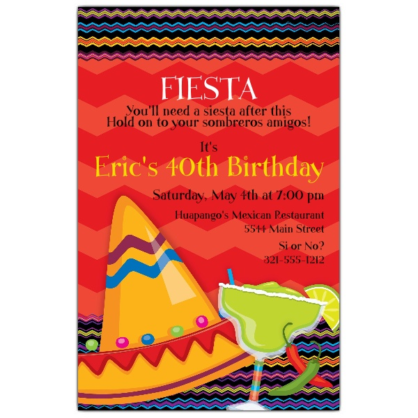 fiesta birthday party invitation wording ; front_fiesta-fun-birthday-invitations-on-fiesta-invitations-mexican-party-fies