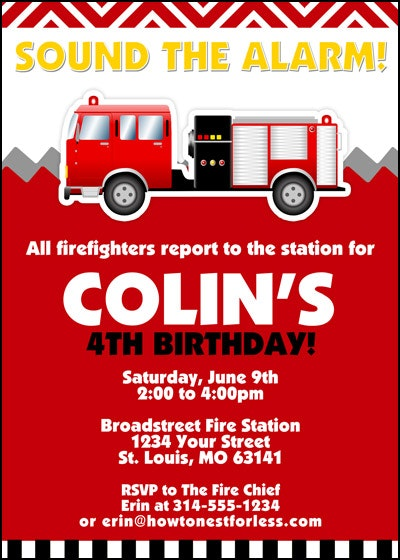 firefighter birthday invitation template ; fire-truck-birthday-invitations-invitation-template-firetruck-themed-party-with-printables-how-nest-capture-exquisite