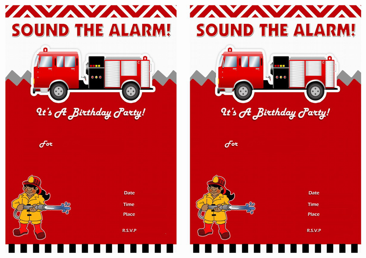 firefighter birthday invitation template ; more-from-my-site_firefighters-birthday-invitations-printabl-on-fire-truck-birthday-invitations-announcements-com-au