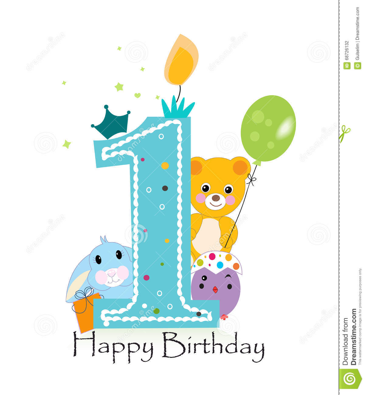 first birthday background images ; first-birthday-greeting-card-teddy-bear-bunny-chick-vector-background-68726132