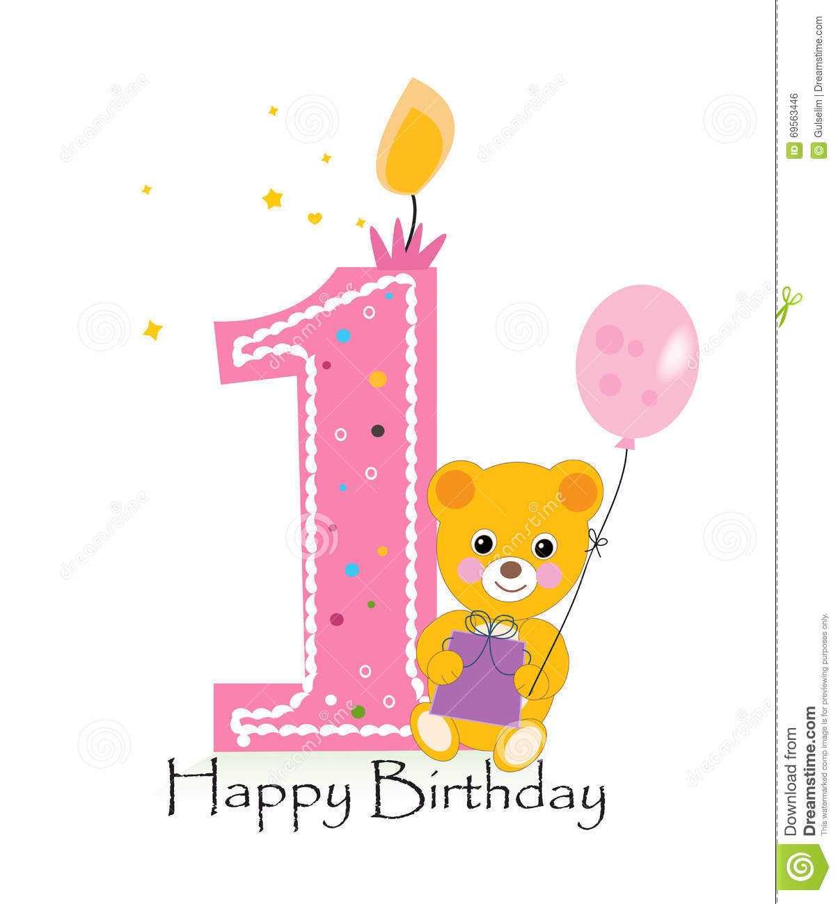 first birthday background images ; happy-first-birthday-candle-baby-birthday-greeting-card-teddy-bear-vector-background-69563446