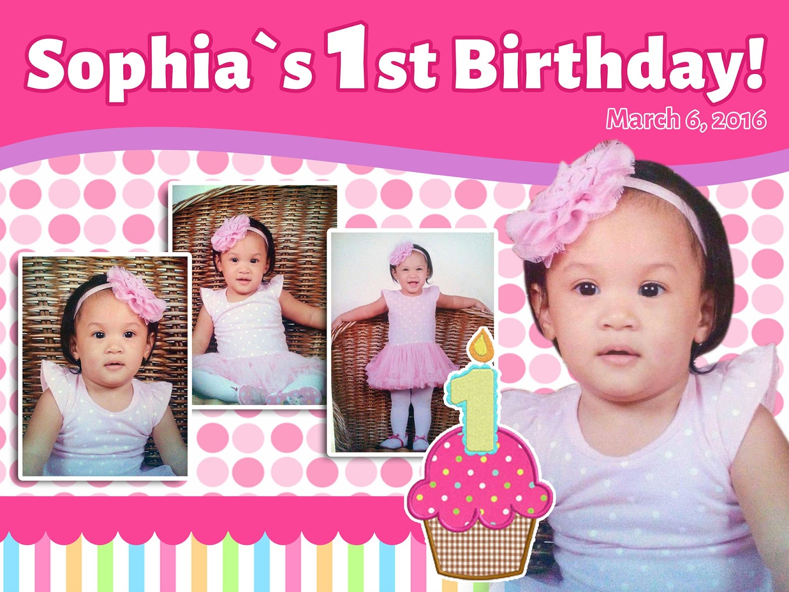 first birthday background tarpaulin ; tarp-preview