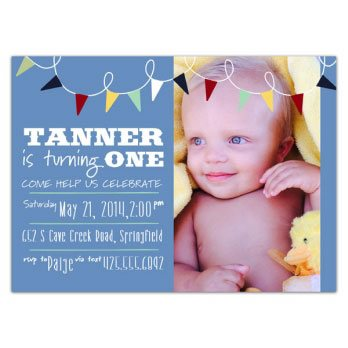 first birthday invitation message for baby boy ; 818-75-0074-d
