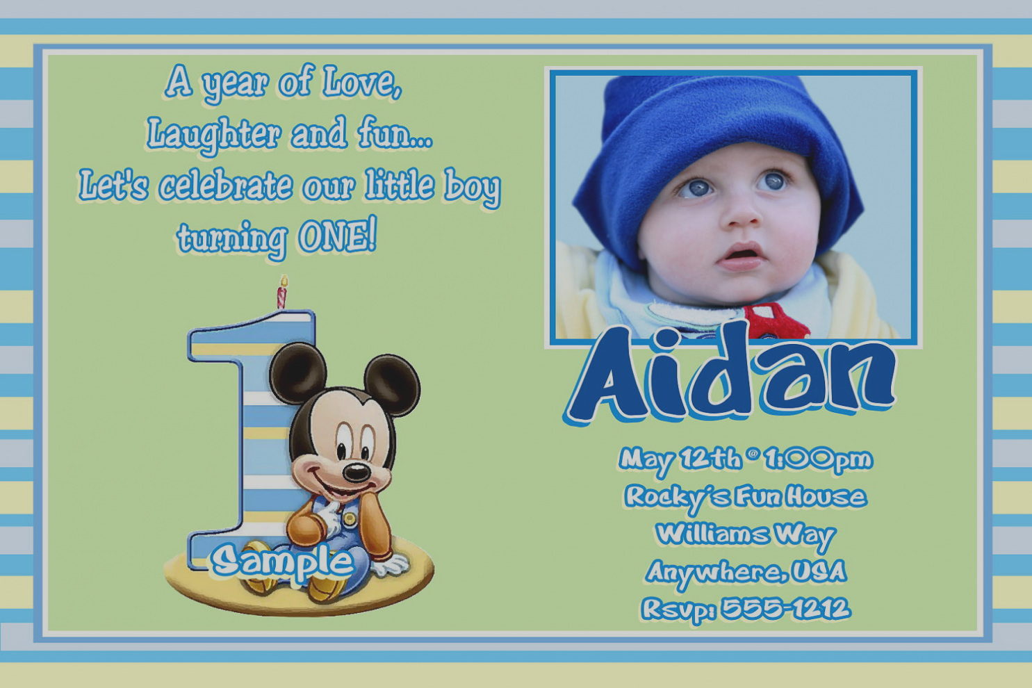 first birthday invitation message for baby boy ; gallery-baby-boy-first-birthday-invitation-wording-mickey-mouse-invitations-best-party-ideas