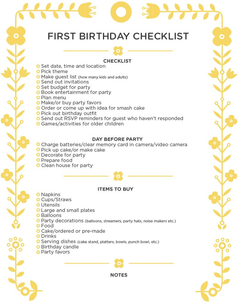 first birthday party checklist printable ; 1st-Birthday-Party-Checklist