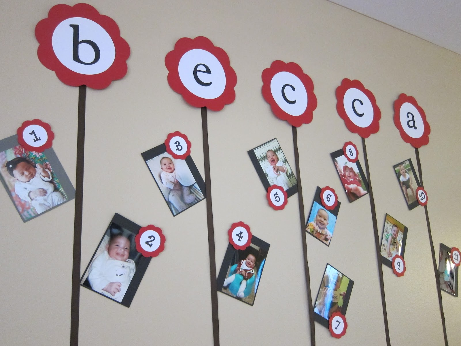 first birthday picture collage ideas ; Aug+19a+045