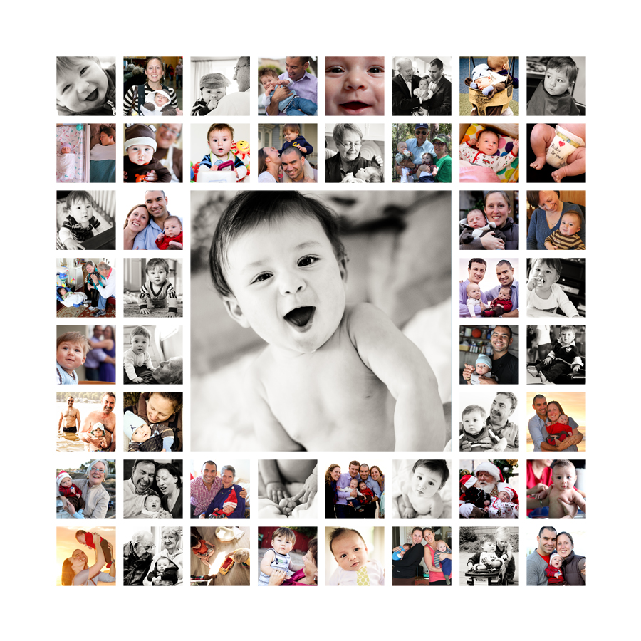 first birthday picture collage ideas ; adorable-be-inspired-canvas-print-co-for-collages_picture-collage-ideas