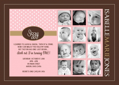 first birthday picture collage ideas ; b7be862f8d59be4755f1974fa9e72f1f--st-birthday-invitations-card-birthday