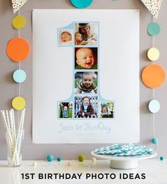 first birthday picture collage ideas ; ec184539fc990c4eabfd1a56200542ad--birthday-photo-collages-st-birthday-photos