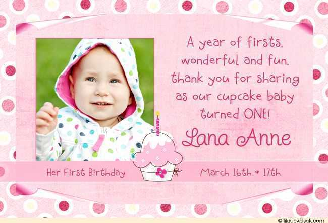 first birthday thank you card wording ; 1st-birthday-thank-you-card-wording-birthday-thank-you-card-wording-awesome-girly-1st-birthday-cupcake-templates