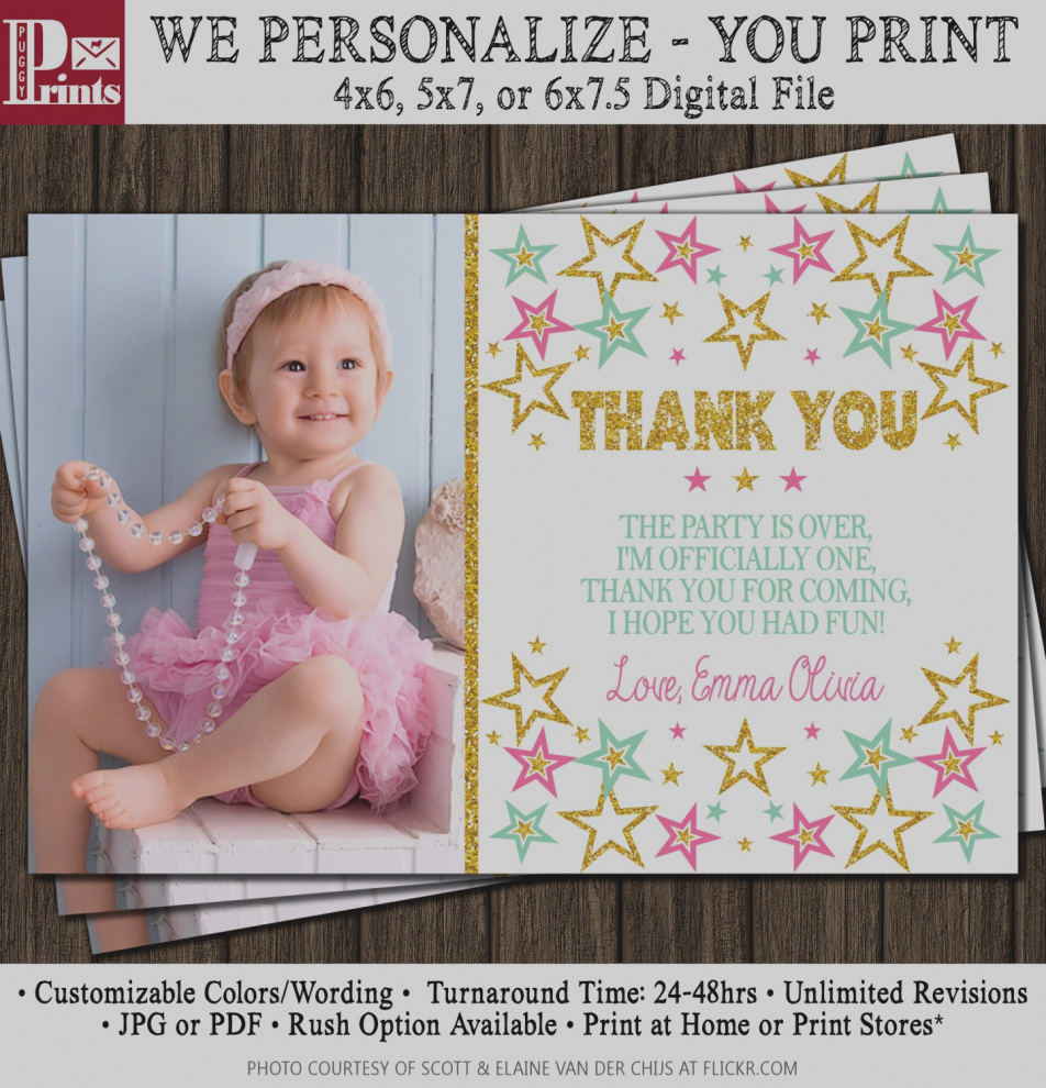 first birthday thank you card wording ; gallery-1st-birthday-thank-you-card-wording-beautiful-twinkle-little