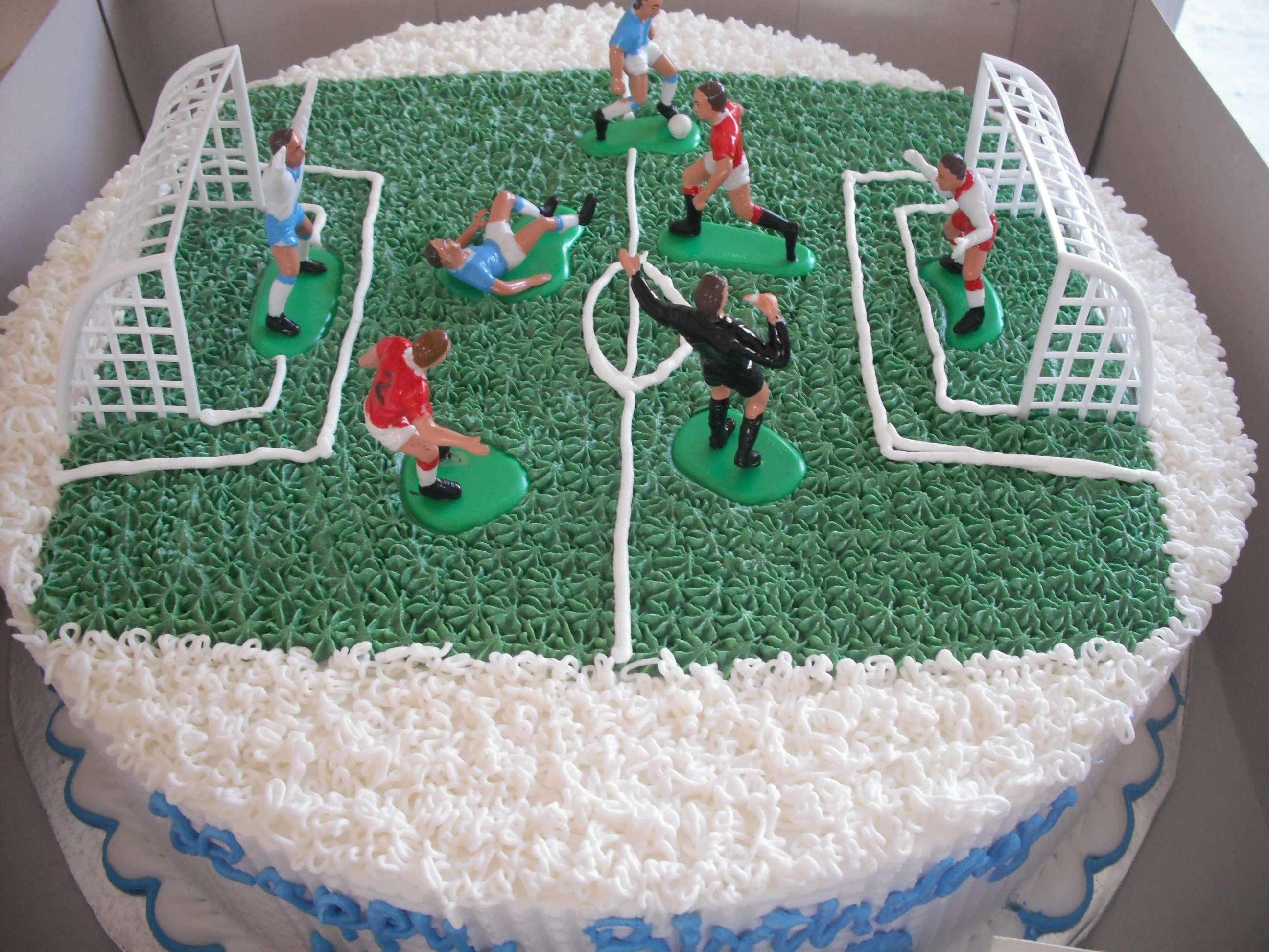 football pitch birthday cake design ; Football-Field-Cake-Pictures