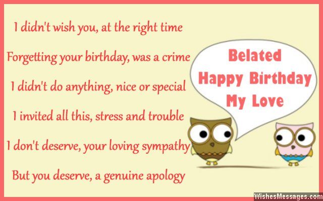 forgotten birthday poem ; Belated-birthday-card-poem-to-wife-from-husband