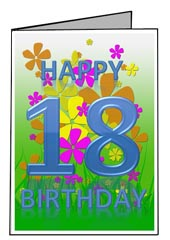 free 18th birthday cards ; 18th-birthday-card-templates