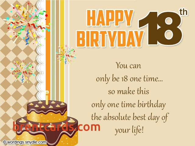 free 18th birthday cards ; messages-for-18th-birthday-cards-message-for-18th-birthday-card-free-card-design-ideas-template