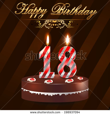 free 18th birthday cards ; stock-vector--year-happy-birthday-card-with-cake-and-candles-th-birthday-vector-eps-198937094