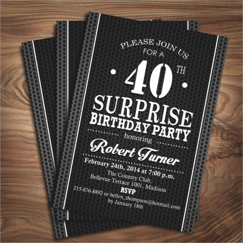 free 40th birthday invitation wording samples ; 21-40th-birthday-invitation-templates-free-sample-example-3