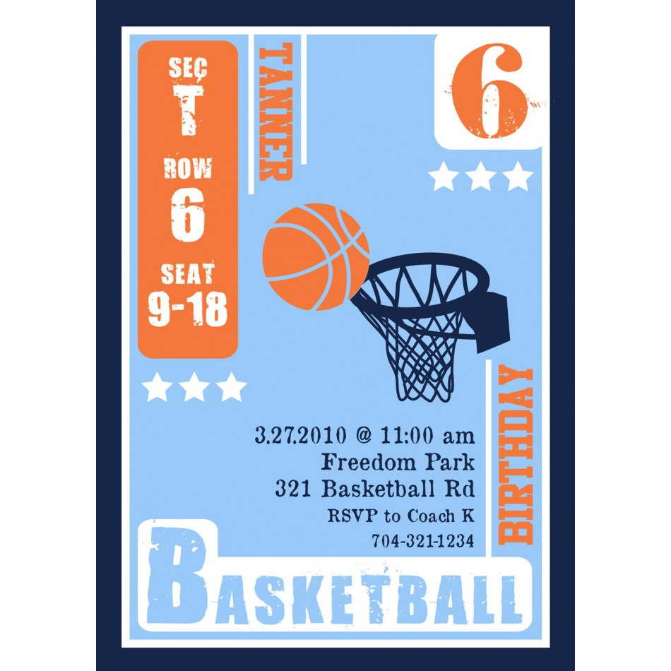 free basketball birthday invitation templates ; basketball-party-invitations-and-charming-invitations-fitting-aimed-at-giving-pleasure-to-your-Party-Invitation-Templates-7
