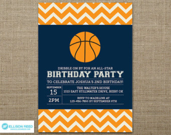 free basketball birthday invitation templates ; basketball-party-invitations-by-means-of-creating-foxy-outlooks-around-your-Party-Invitation-Templates-17