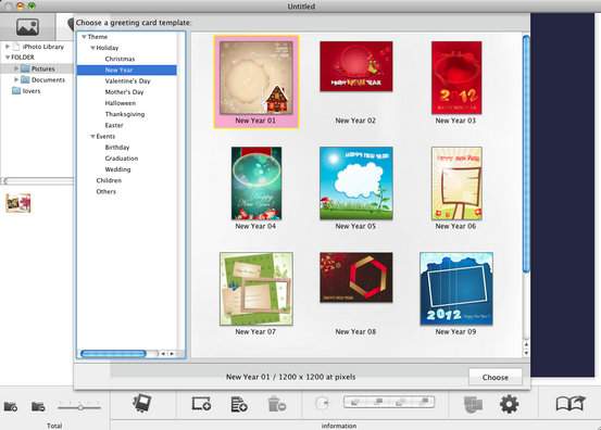 free birthday card templates for mac ; greeting-cards-maker-snowfox-greeting-card-maker-for-mac-online-help-ideas